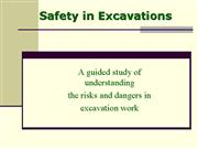 safety in excavations presentation