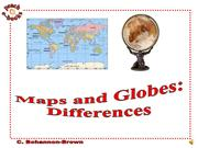 PEN 2925 Maps and Globes Differences