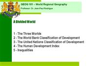 Geog+001+Divided+World+