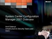 SCCM 2007 Overview