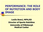 Nutrition Performance PowerPoint 