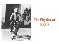 physics+of+sports+2006+11+10+