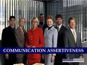 Communication Assertiveness