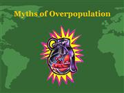 Overpopulation The Facts