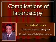 laparoscopy+complications+
