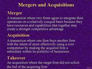mergers+and+acquisitions+