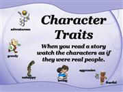 Character+Traits